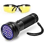 Simply Plus Black Light UV Flashlight, 51 LED Ultraviolet Black Light For Urine Detection For Pet Urine 8
