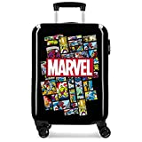 Valise Trolley Cabine Rigide Comic Marvel Noir