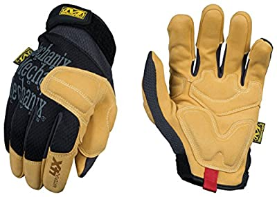 Mechanix Wear PP4X-75-008 Material4X Padded Palm Gloves