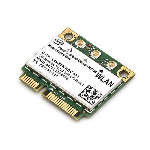 Intel WiFi Link Centrino Ultimate-n 6300 6300agn 802.11n Mini Card 633ANHMW Half SIZE 450Mbps