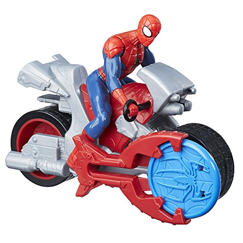 Spiderman with Cycle