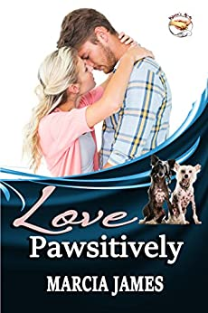 """Love Pawsitively: Klein's K-9s novellas 1 – 3 anthology: """"Racing Hearts,"""" """"8 Hounds a-Howling,"""" & """"Nothing But a Hound Dog"""" novellas (Klein's K-9s Service Dogs Book 5) by [Marcia James]"""