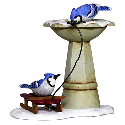Hallmark Keepsake Christmas Ornament 2018 Year Dated, Marjolein Bastin Marjolein's Garden Bathing Blue Jays