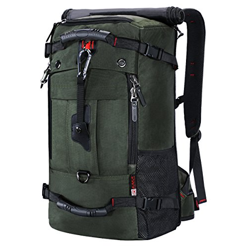 Mr.Journey Hiking Backpack,40L Large Waterproof Outdoor Sport Hiking Trekking Camping Travel Backpack Pack,Business Military Backpack with Password Lock