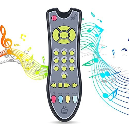 Yujum El Aprendizaje a Distancia de Seguridad Control Primeros Juguetes educativos de los niños Máquina eléctrica del Juguete de Regalo del bebé Juguetes Música TV