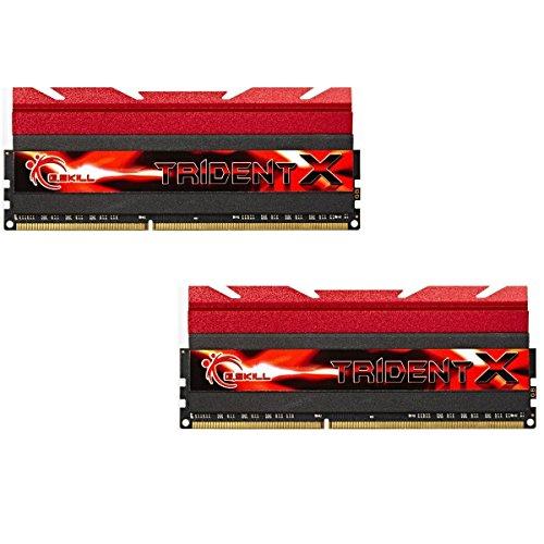 G.Skill 16GB TridentX DDR3-2666MHz - PC-Speicher/RAM (DDR3, 2 x 8 GB, 240-pin DIMM, DIMM, 2T, Dual)