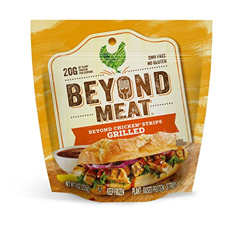 Beyond Meat, Grilled Chicken-Free Strips, 9 oz (Frozen)