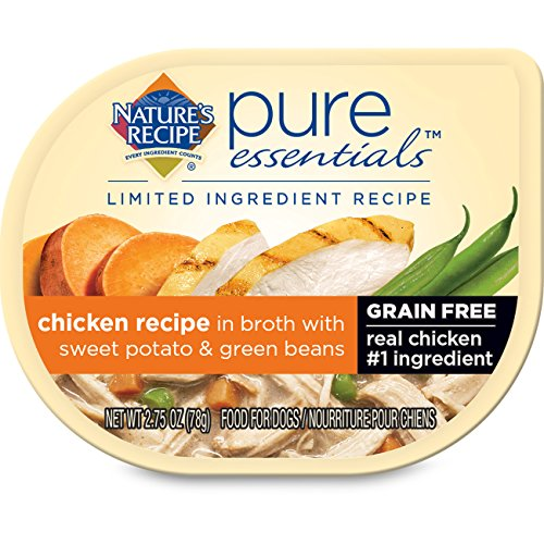 Nature's Recipe Nature's Recipe Pure Essentials Grain Free Chicken Recipe in Broth (Pack of 24), 2.75 oz