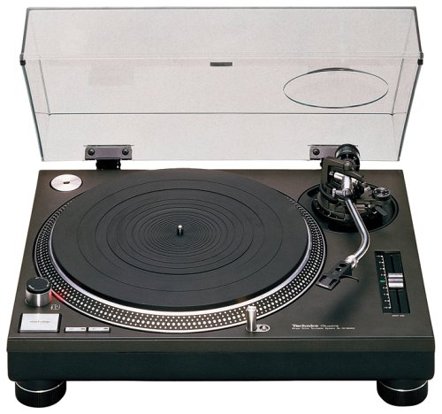 Technics SL 1210 MK2 Plattenspieler schwarz