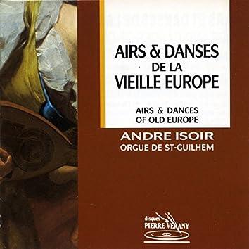 Airs & danses de la vieille Europe