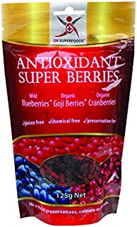 Dr Superfoods Organic Antioxidant Super Berries, 125 g