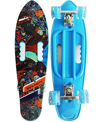 #10. Runyi 22/24/27 Inches Mini Cruiser Skateboard