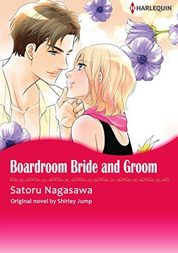 Boardroom Bride And Groom: Harlequin comics (English Edition)