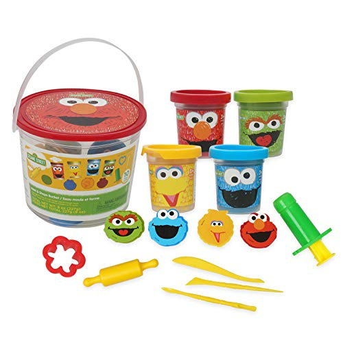 Sesame Street -14pc Dough Bucket Set