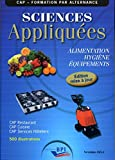 Sciences Appliquées - Cap - Eleve - Maj 2011 - Editions Bpi - 01/01/2011