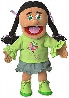 """14"""" Jasmine, Hispanic Girl, Hand Puppet"""