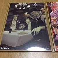 Fate Grand Order FGO ローソン 限定 オリジナルミニ色紙 巌窟王 エドモンダンテス ホームズ サリエリ