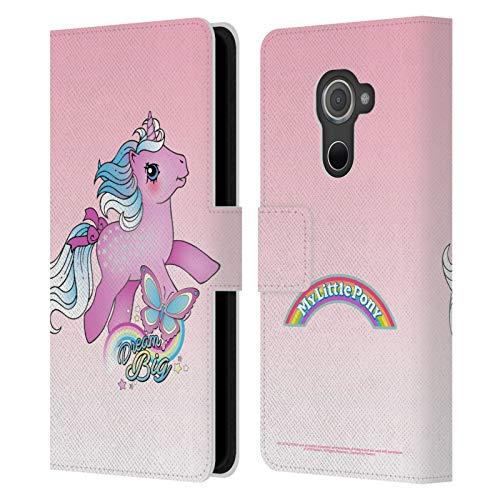 Head Hülle Designs Offizielle My Little Pony Classic Traeume Gross Auf meiner Wolke Leder Brieftaschen Handyhülle Hülle Huelle kompatibel mit BlackBerry DTEK60