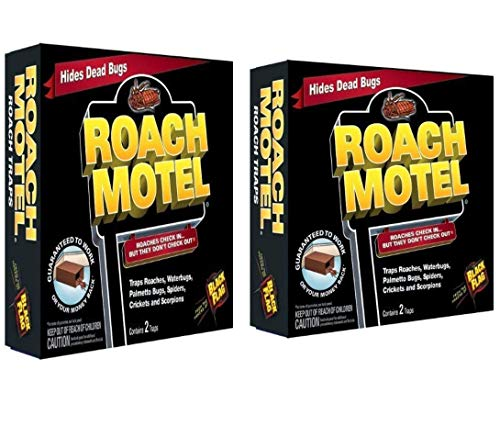 Black Flag Roach Motel Insect Trap2 Packs 4 Traps