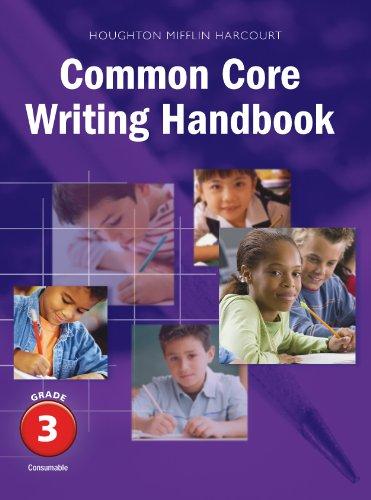 Journeys Common Core Writing Handbook Grade 3 by Houghton Mifflin Harcourt