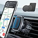 LISEN Handyhalterung Auto Magnet, [6 Starke Magnete] Magnethalter Handy Auto [Upgraded Haken CLAMP] Magnet Handyhalterung fürs Auto [360°Drehbar] KFZ Handyhalterung Magnet Für Alle Smartphones