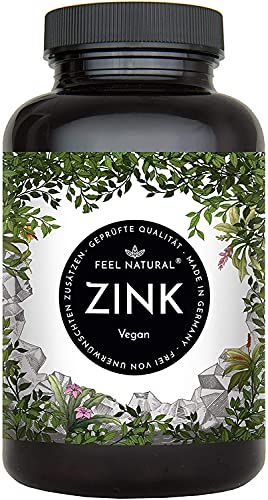 Vita Naturalis UG -  Zink Tabletten - 365