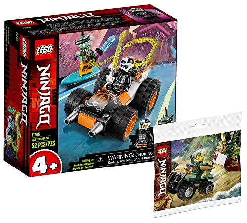 Lego Set - Ninjago Coles Speeder 71706 + Ninjago Lloyds Quad 30539 (Polybag)