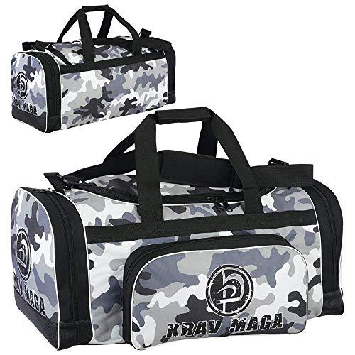Krav Maga Noir Sport Duffel Sac Kit - Camouflage Edition Neuf
