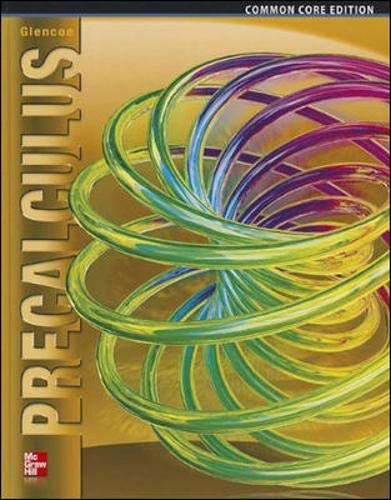 Compare Textbook Prices for Precalculus, Student Edition ADVANCED MATH CONCEPTS 1 Edition ISBN 9780076641833 by McGraw Hill