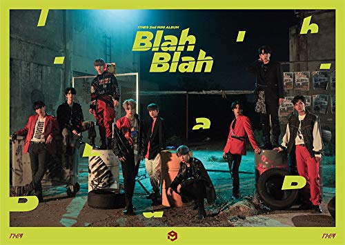 1THE9 - Blah Blah (2nd Mini Album) CD+104p Photobook+Mini Poster+Photocard+Mini Postcard+Folded Poster
