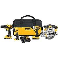 Deals on DeWalt 4-Tool 20V MAX Combo Kit DCK421D2