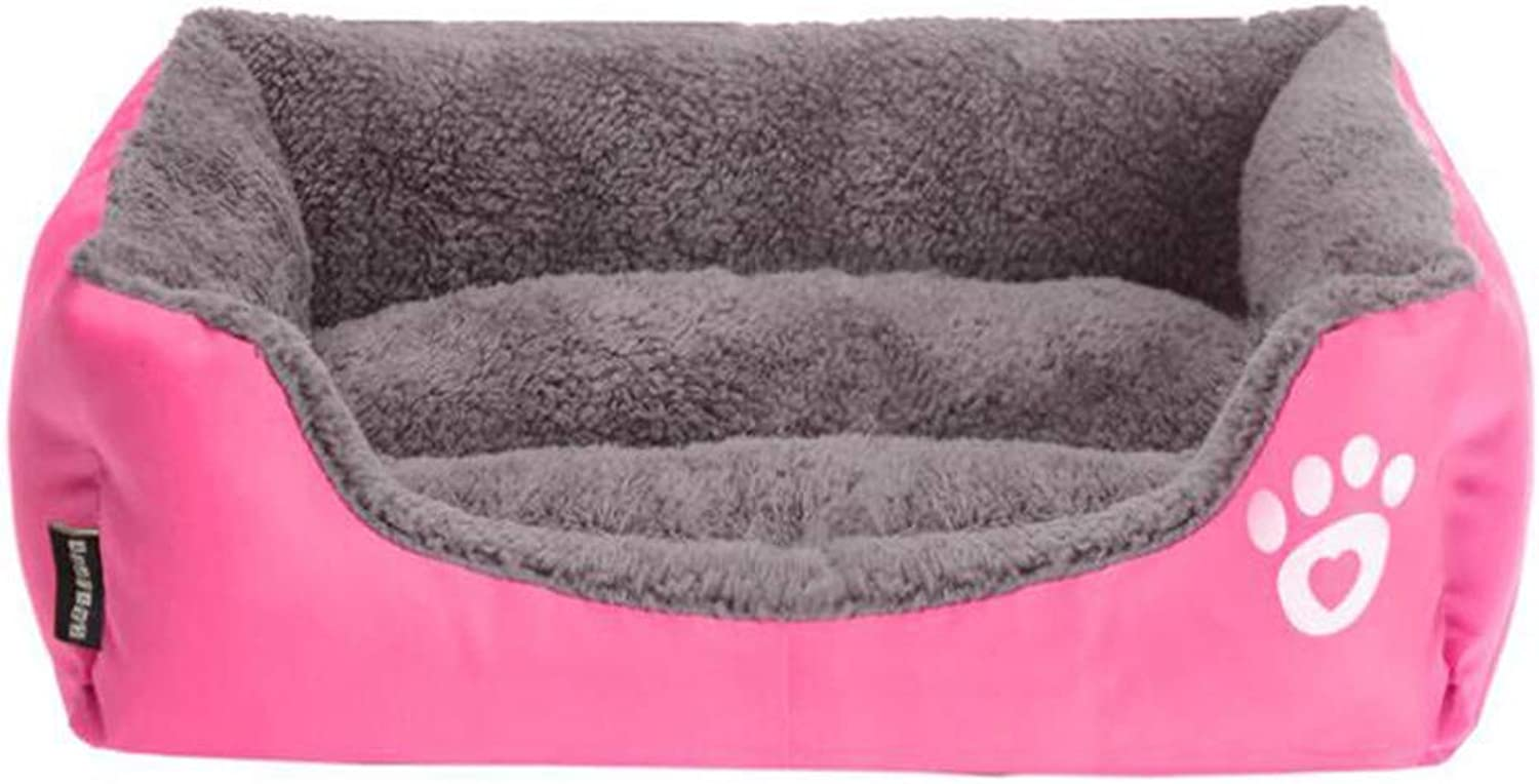 Kennel Sofa Bed Warm Autumn and Winter color Pet Nest Sofa Bed Cat