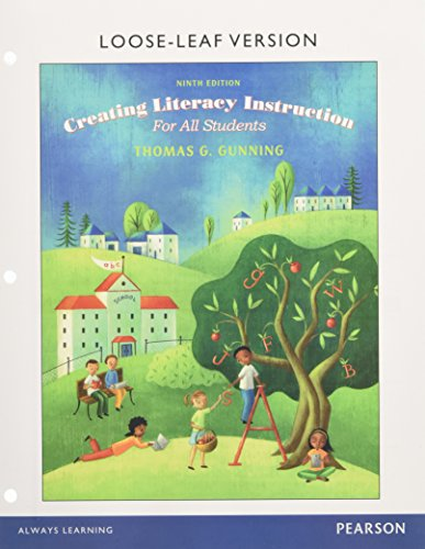 Creating Literacy Instruction for All Students, Enhanced Pearson eText with Loose-Leaf Version -- Access Card Package (9