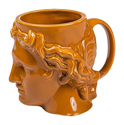 Hestia Greek Dios Greco-Roman - Taza de café (cerámica), diseño de dios...