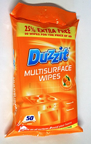 Duzzit Multisurface salviette, confezione da 50 Confezione originale