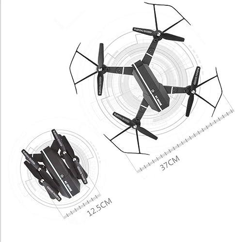 HXYL Drohne mit Kamera für Erwachsene, Luftbildkamera Luftbildfotografie, Fernbedienung Flugzeuge faltender Quadcopter