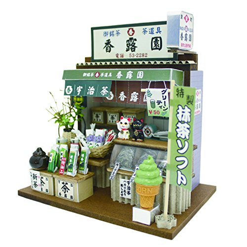 Marktsatz Teehaus 8664 gute alte Billy handgemachte Puppenhaus-Kit (Japan-Import)