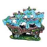 SMELL & SMILE Adorno de Acuario Decoración para Acuarios Figura Decorativa para decoración de Acuario tamaño pequeño (5017)