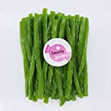 Smarty Stop All Color Licorice Twist Candy (Green Apple, 2 LB)