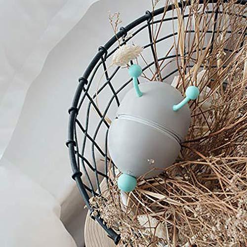Vn Tier Tischlampe Wandbehang Klappkarikatur Führte Tischlampe Aufladung USB Nachtlicht Schlafzimmer Nachttischlampe Gelb Lithium-Ionen-Akku,Gray