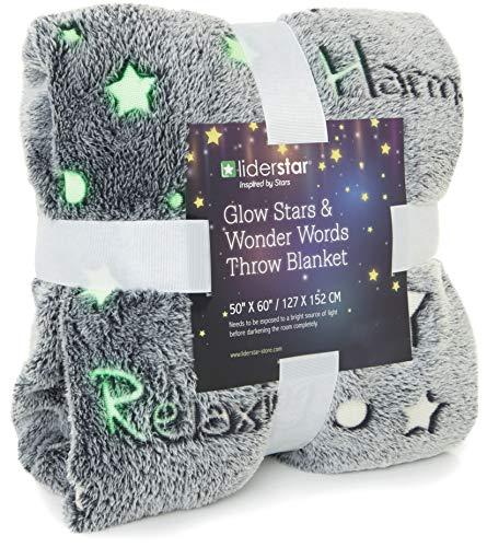 Glow in The Dark Throw Blanket