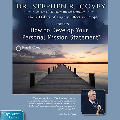 How to Develop Your Personal Mission Statement audiobook cover art