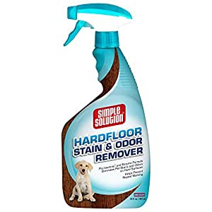 Simple Solution Hardfloor Stain & Odour Remover 945ml 1200g: Amazon.co.uk: Pet Supplies