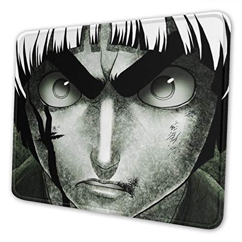 Naruto Rock Lee - Alfombrilla de ratón para ordenador portátil, bordes cosidos para oficina, ideal para ratón, 7,9 x 9,5 pulgadas