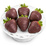 6 Dreamy Dark Chocolate Covered Strawberries