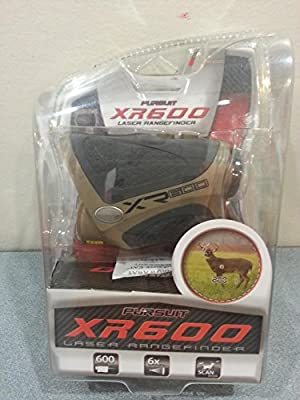 Pursuit Laser Range Finder XR600 Hunting Golf 600 Yard Magnification by china