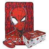 Cerdá Set Caja METÁLICA Spiderman - Rojo, T28/29