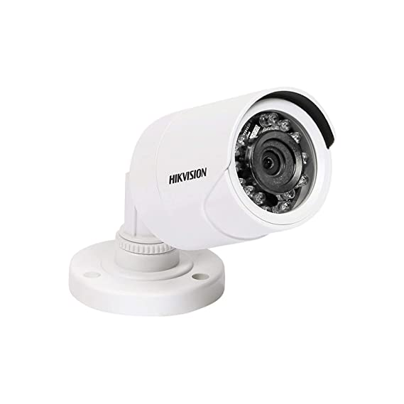 HIKVISION DS-2CE1AD0T-IRPF 2MP HD 1080p 4-in-1 CCTV R Night Vision Bullet Camera , White