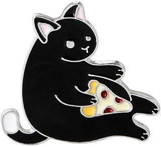Ameublement et décoration coloré Super cadeau Insigne de bouton broche créatif petit chat exquis