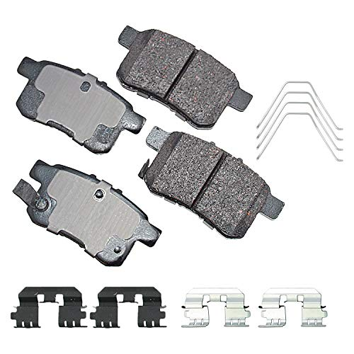 Akebono-ACT1336A Ultra-Premium Ceramic Rear Disc Brake Pads